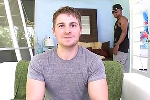 Straight guy's anal satisfaction